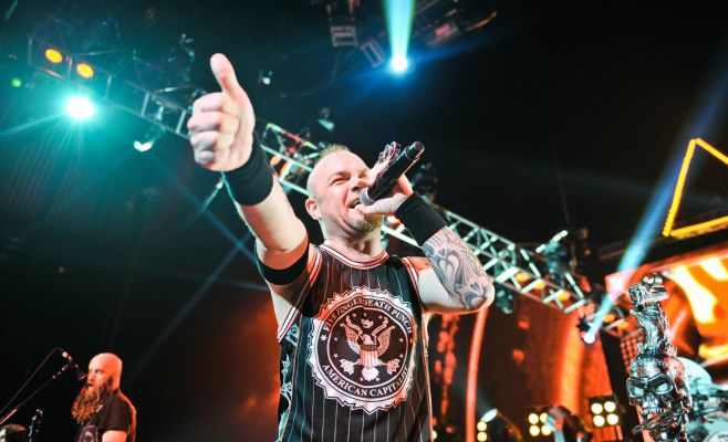 Концерт Five Fingers Death Punch и In Flames