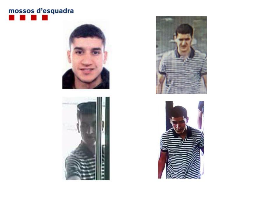Полицейские убили  подозреваемого всовершении теракта вБарселоне
