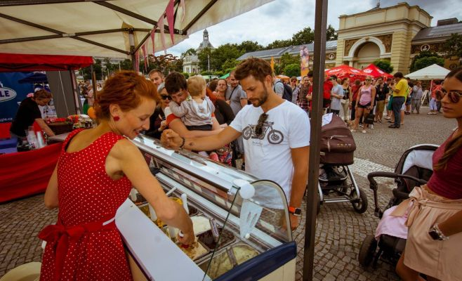 Фестиваль мороженого Prague Ice Cream Festival